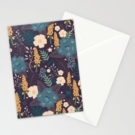 Vintage Tropical Blooms Stationery Cards