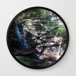 Cheers to Waterfalls pt 4 Wall Clock