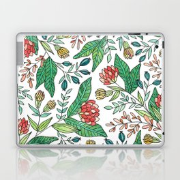 Wildflower Pattern - Full Color Laptop & iPad Skin