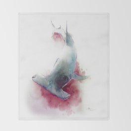 hammerhead shark Throw Blanket