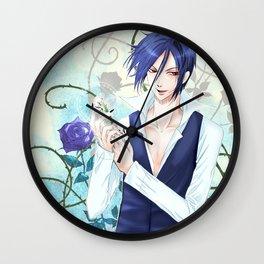 Sebastian and White Knight Wall Clock