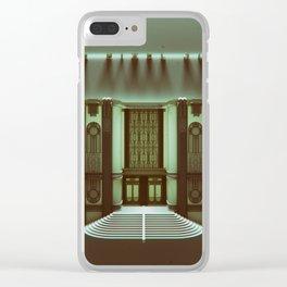 the pixel junk Clear iPhone Case