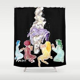 The Sleepover Shower Curtain