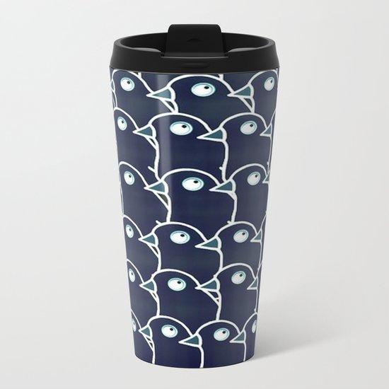 crow-45 Metal Travel Mug