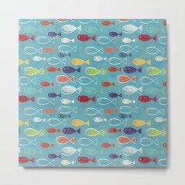 Fish poissons 100 Metal Print