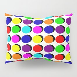 Pick A Colour, Push A Button Pillow Sham