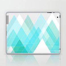 Icy Grey Mountains Laptop & iPad Skin