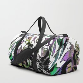 Distortion of the line Duffle Bag