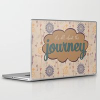 journey Laptop & iPad Skins featuring Journey by Skuishy