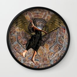 When she wanted to stay - She had to go Fx  Wall Clock
