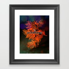 WHERE FEET MAY FAIL Framed Art Print