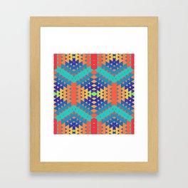 Indigena Fractal 2 Framed Art Print