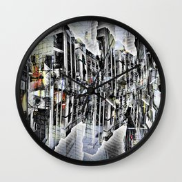Tuesday 8 October 2013: Particularly emphasized segmentation and cohesion. Wall Clock