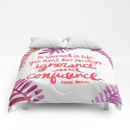 Ignorance & Confidence #3 Comforters