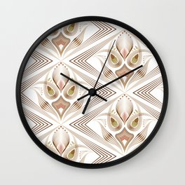 "Art Deco 39. "" Flo  "". Wall Clock"