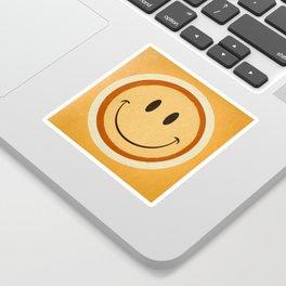 Retro Smile Sticker