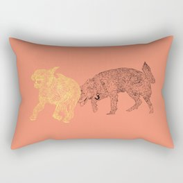 Amigueros Rectangular Pillow