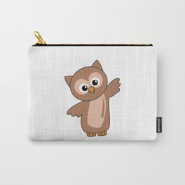 Owl Sweet Animals For Children Owls Bird Carry-All Pouch