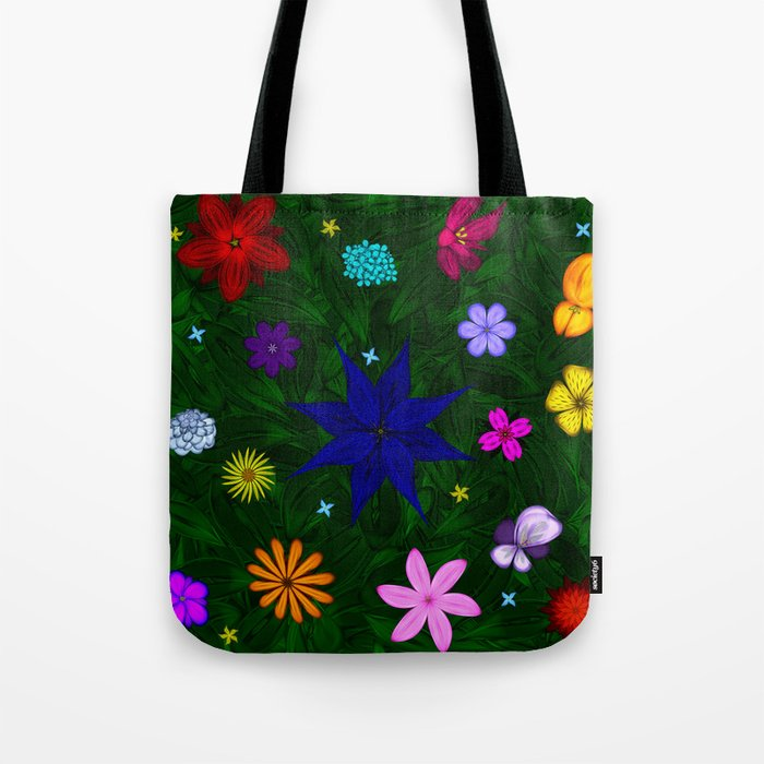 Flying Above the Garden Tote Bag