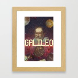 Visions of Galileo Framed Art Print