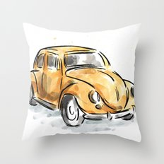 The Classic Beetle Throw Pillow