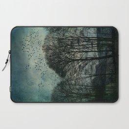 Textured Trees Laptop Sleeve