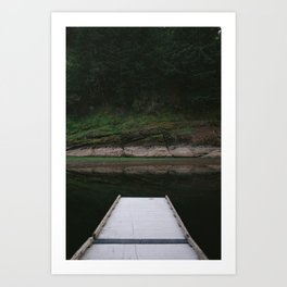 Lone Dock Art Print