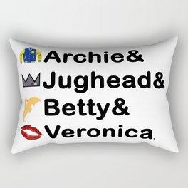 Riverdale Names Rectangular Pillow