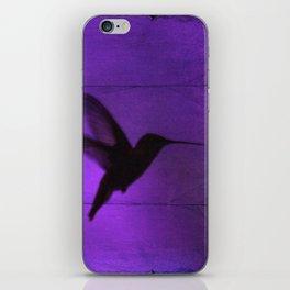 Razzleberry Hummingbird by CheyAnne Sexton iPhone Skin