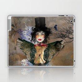 Lady in a Black Hat Laptop & iPad Skin
