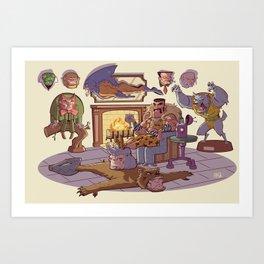 Trophy Room Art Print
