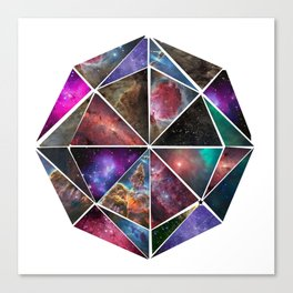 Universal Geometry no.1 Incalculable Canvas Print