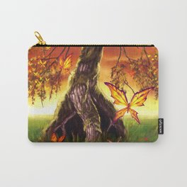Butterfly Tree Carry-All Pouch
