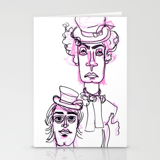 Hatters  Stationery Cards
