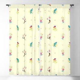 Flower and bird Blackout Curtain