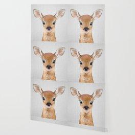 Baby Deer - Colorful Wallpaper