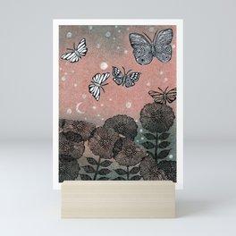 Night Garden (2) Mini Art Print