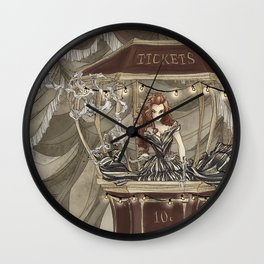 Midnight Circus: tickets Wall Clock