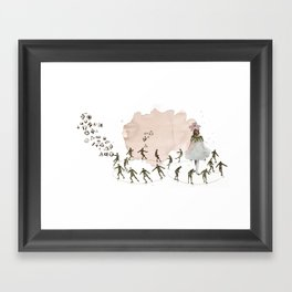 hey diddle diddle 1 Framed Art Print