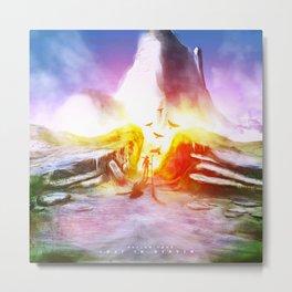 """"""" Lost in Heaven """" Metal Print"""