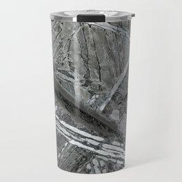 Meteorite structure Travel Mug