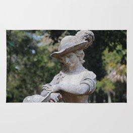Ringling Rose Garden Statuary II Rug