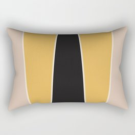 Honey Bee Color Block Rectangular Pillow