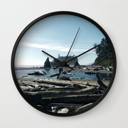 Pacific coast & Rockies Wall Clock
