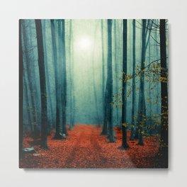 Landscape (colour option) Metal Print