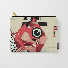 Fish and Squirrel Carry-All Pouch
