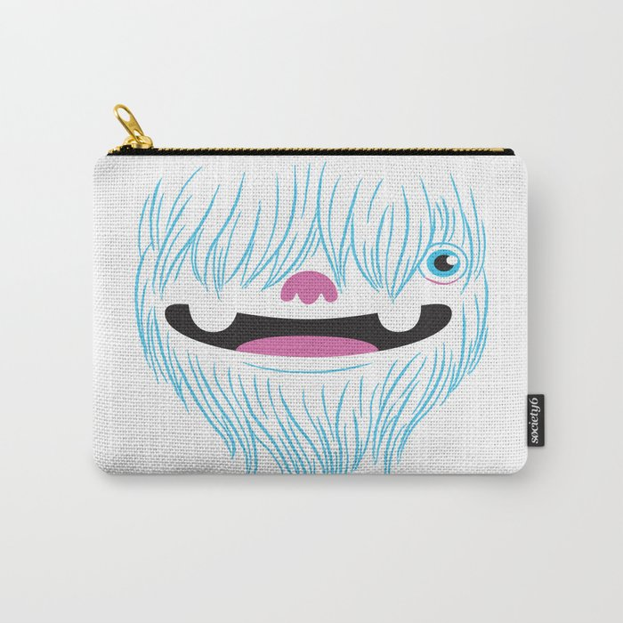 Happy Yeti Carry-All Pouch