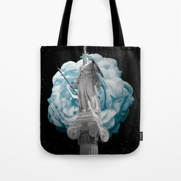 She Takes on the World Tote Bag