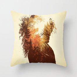 Polish Girl Throw Pillow