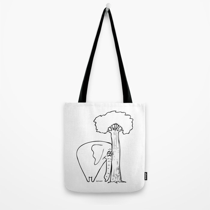 I Miss You Tote Bag